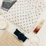 Minimal Style Summer Flatlay