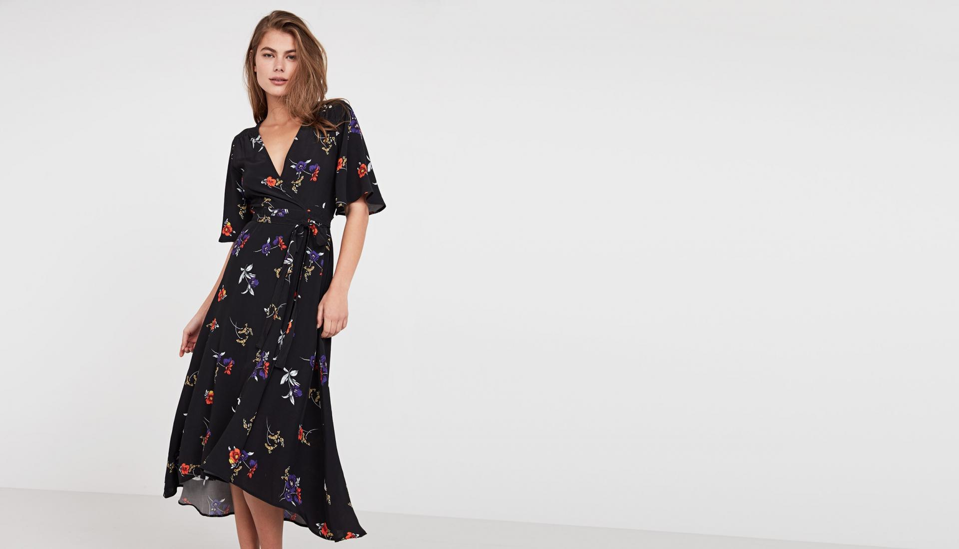 Floral Boho Style Dress