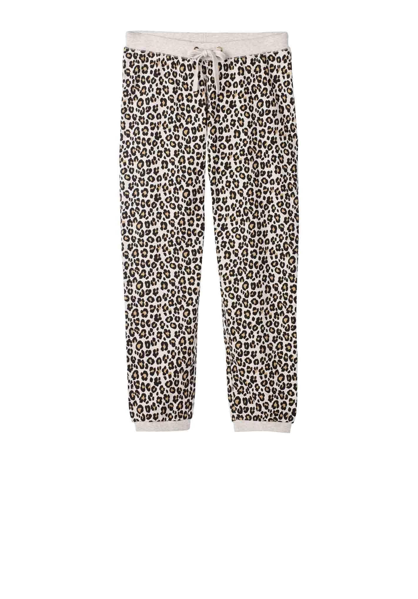 Leopard Print Joggers Hush