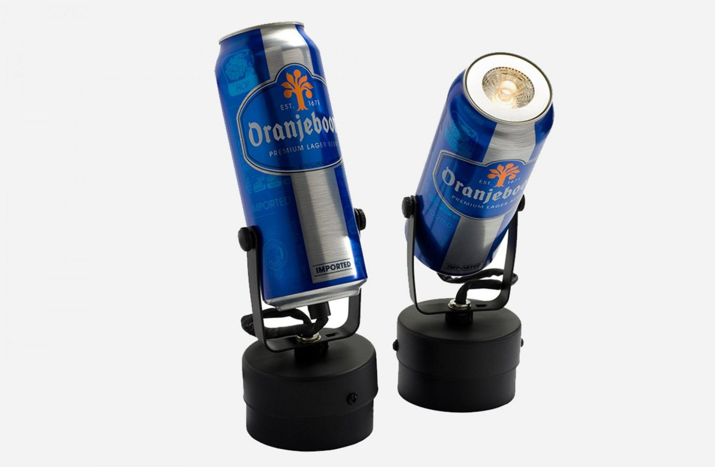 Beer Can Light House of Voltaire