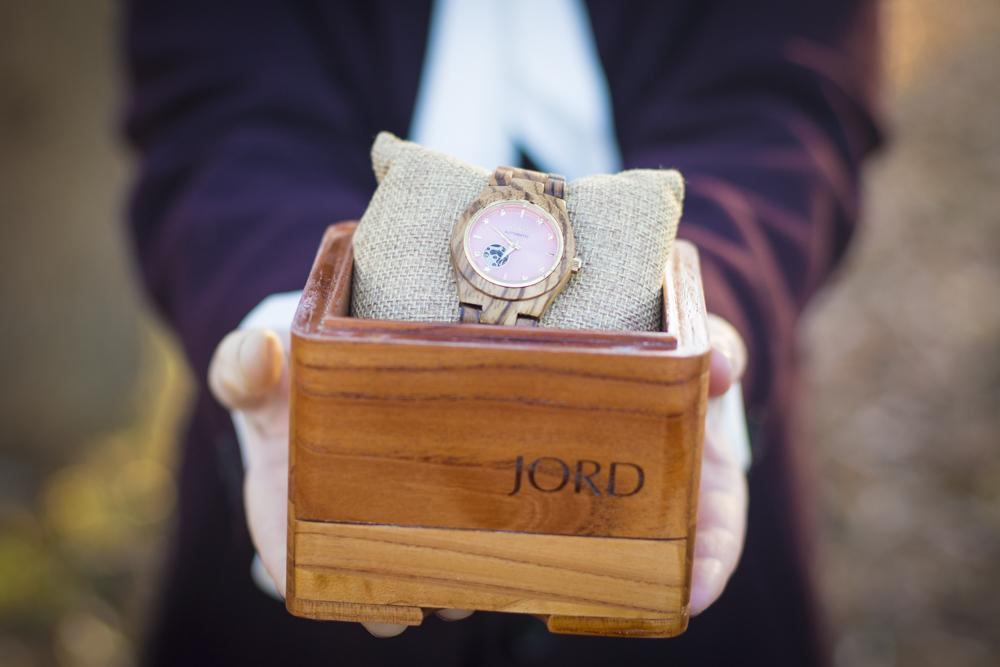 JORD wood watch in box