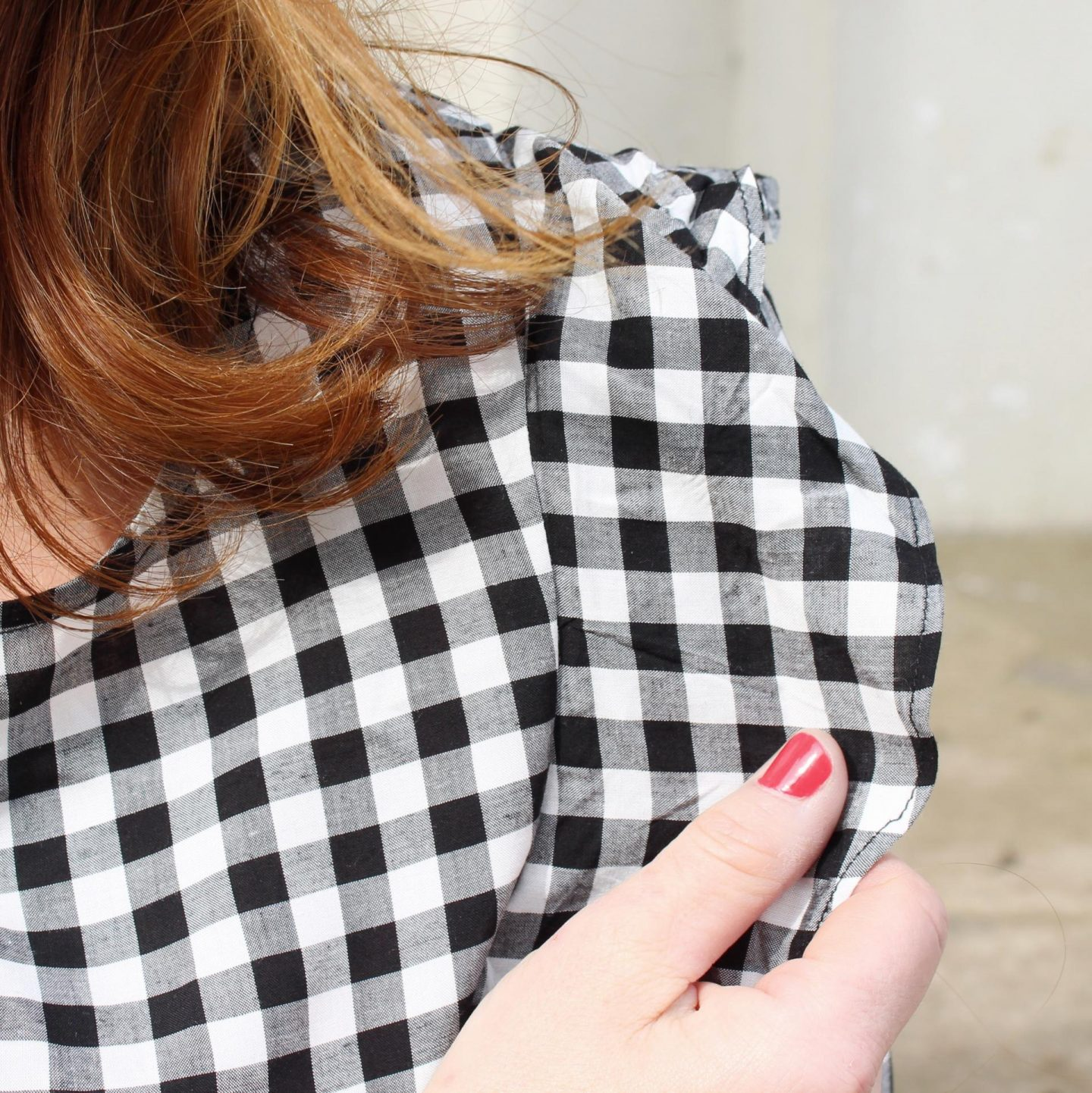 Stepping into Spring with Gingham and Ruffles