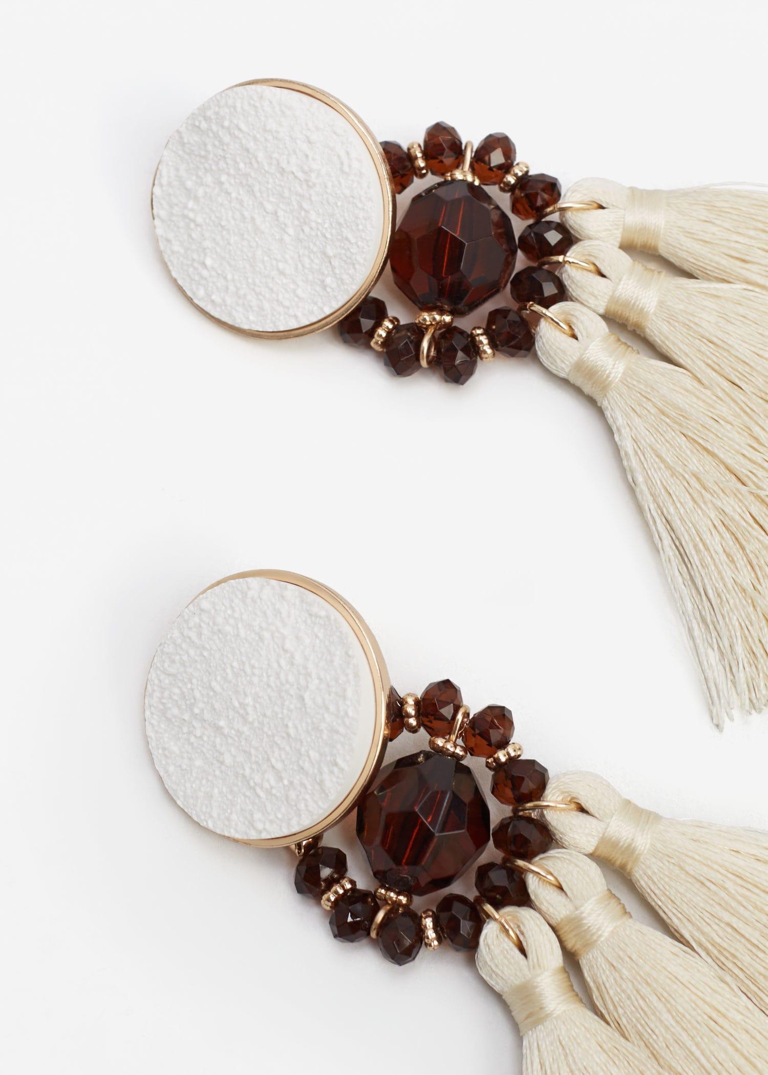 New Season Picks at Mango | Chandelier earrings