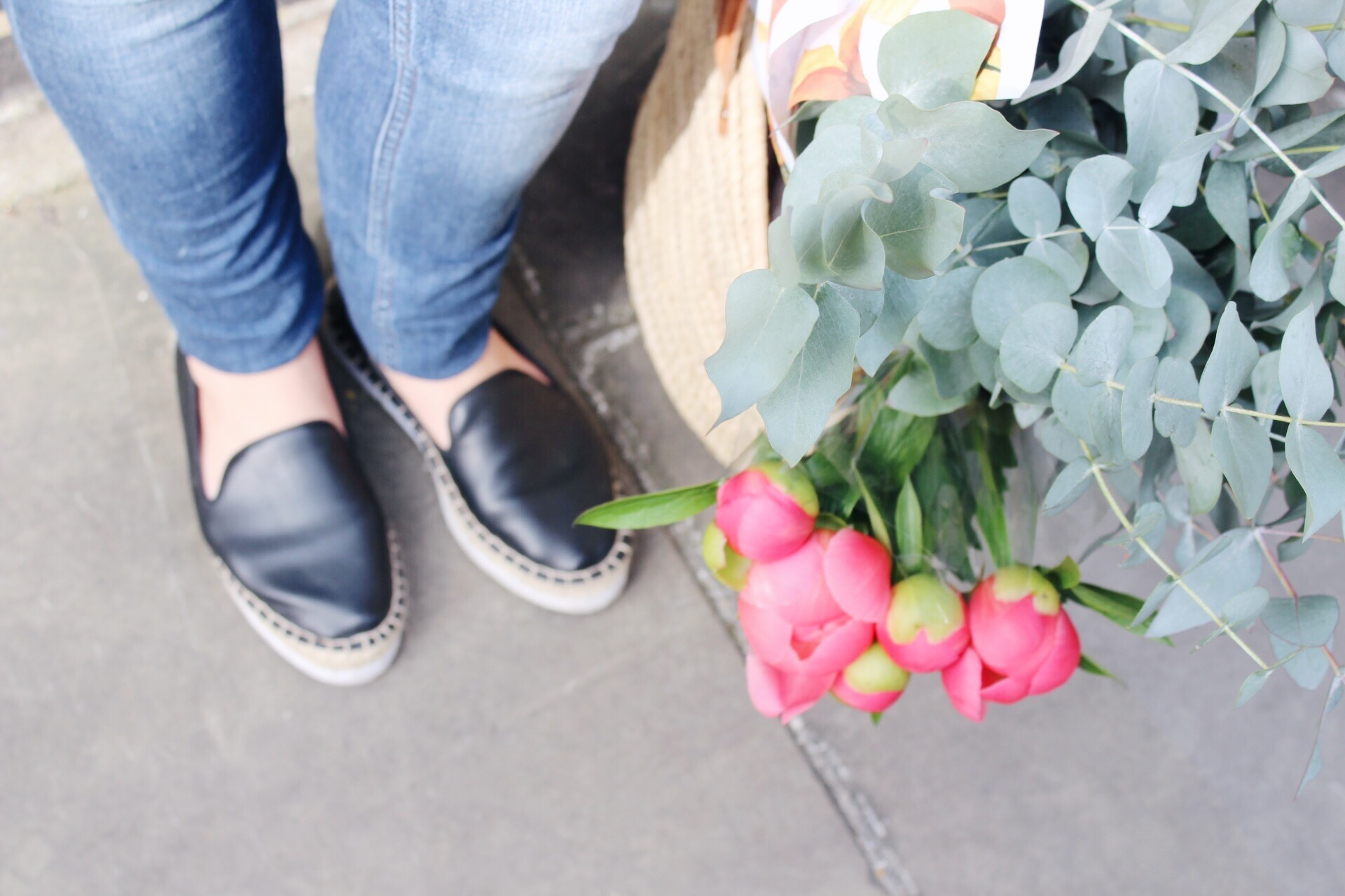 Peonies and espadrilles Tinker Tailor Online
