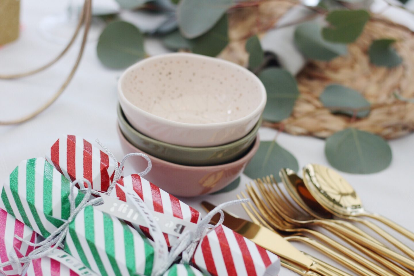 Tips for styling your Christmas table