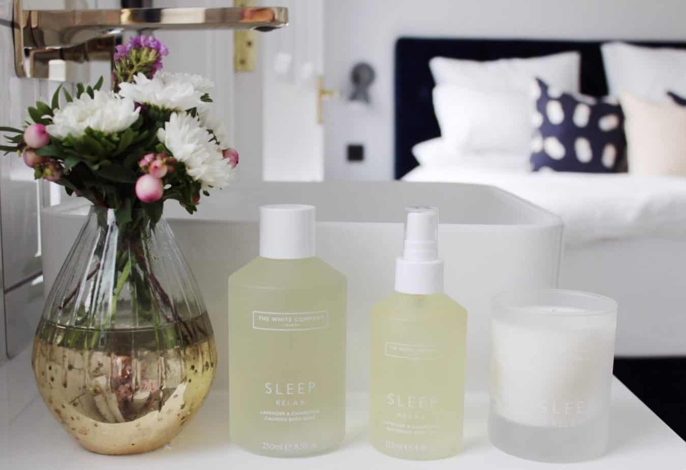Bedtime rituals with The White Company