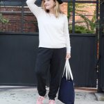 Cashmere the perfect travel companion | Cashmere joggers and sweater from The White Company
