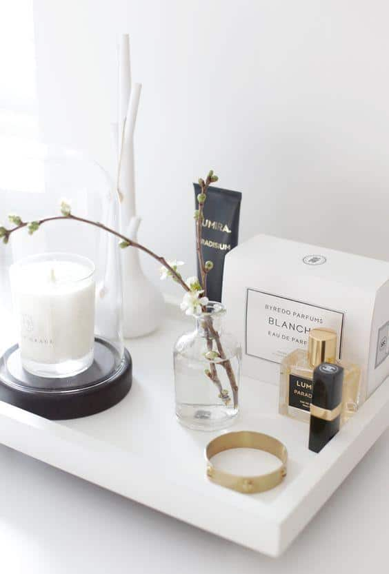 Stylizimo Blog | Dressing table styling | Luxury scented candles